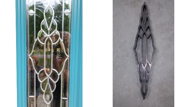 Door design cuts
