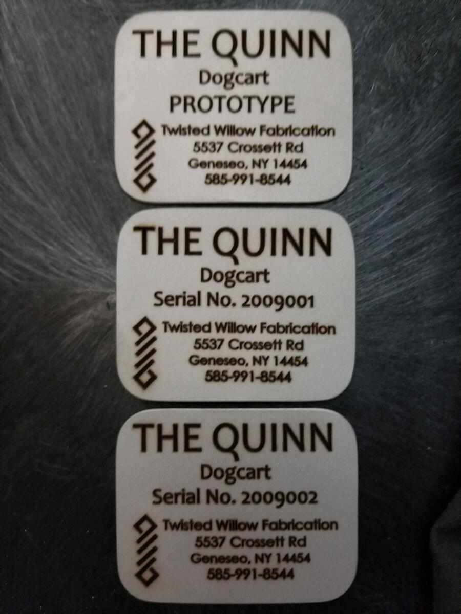 Engraved Product Tags